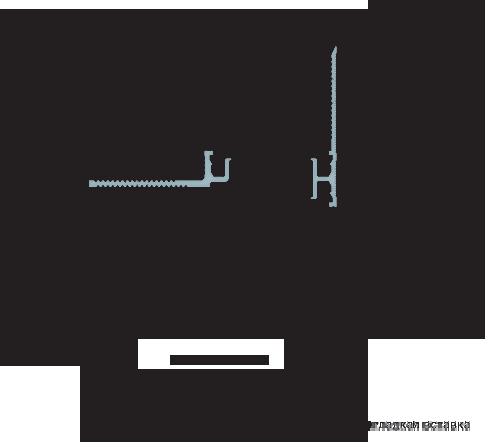 MANGRA 3320-050, h = 15 мм, Угол