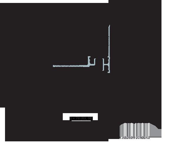 MANGRA 4320-025, h = 15 мм, Угол