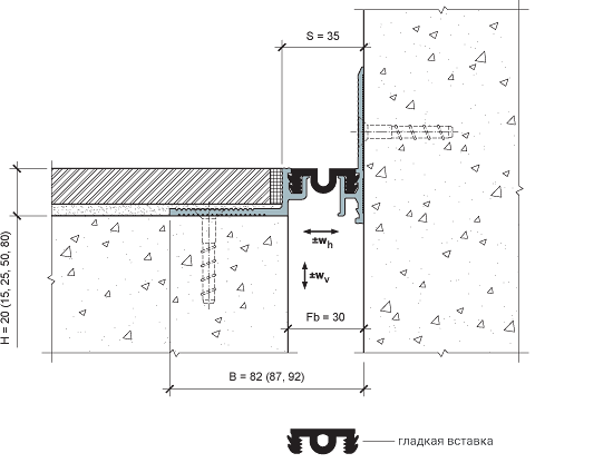 MANGRA 4320-030, h = 20 мм, Угол