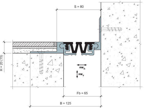 MANGRA 4520-055, h = 20 мм, Угол