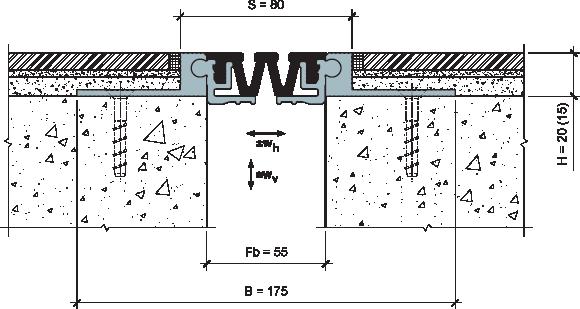 MANGRA 4520-055, h = 20 мм