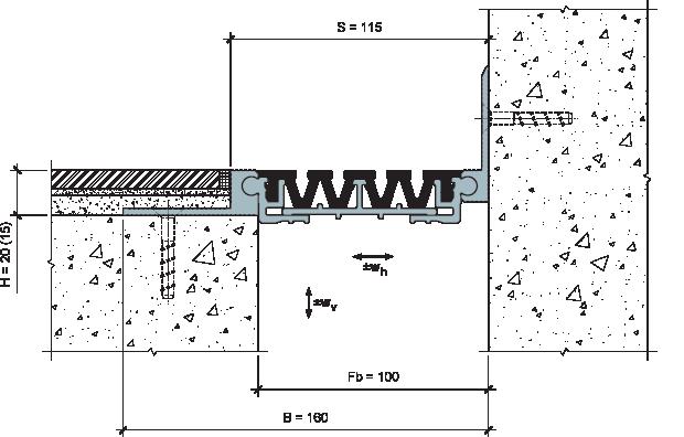 MANGRA 4520-090, h = 20 мм, Угол