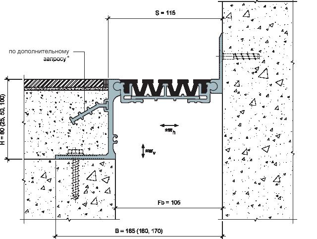 MANGRA 4520-100, h = 80 мм, Угол