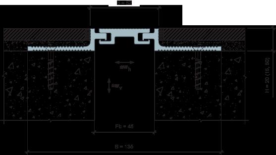 MANGRA 5020-045, h = 20 мм