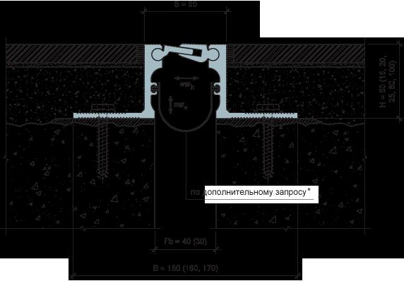 MANGRA 5320-030, h = 50 мм