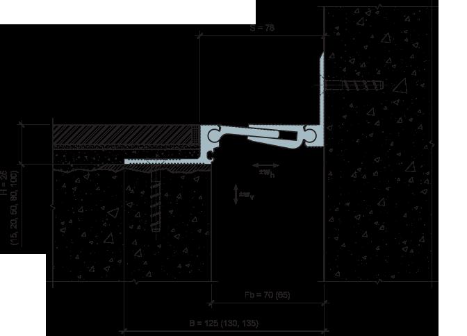 MANGRA 5320-050, h = 25 мм, Угол