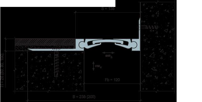 MANGRA 5520-100, h = 25 мм, Угол