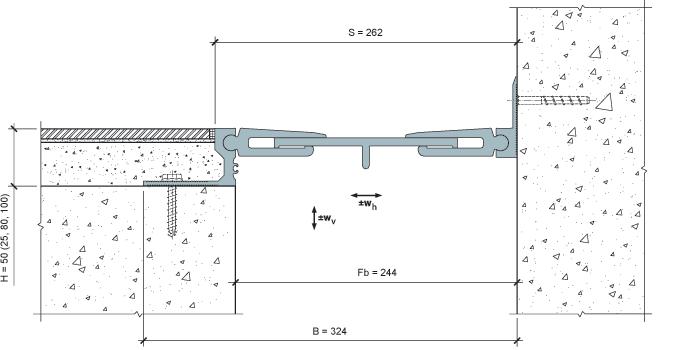 MANGRA 8520-225, h = 50 мм, Угол