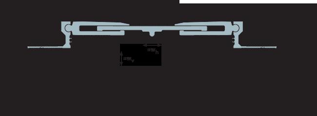 MANGRA 8520-300, h = 50 мм