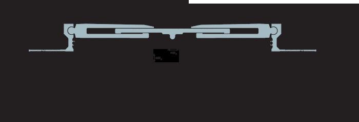 MANGRA 8520-350, h = 50 мм