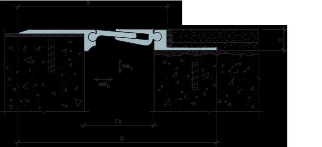MANGRA 5310/5320-050, h = 20 мм
