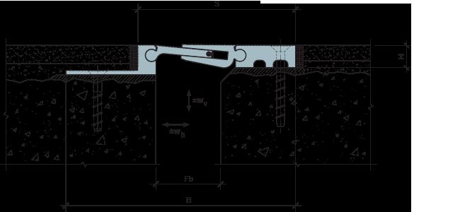 MANGRA 5320/5330-050, h = 20 мм